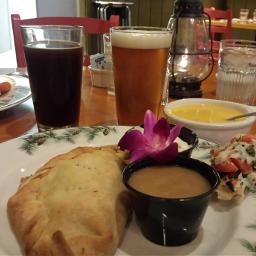 dpccomfortfood pasty beer