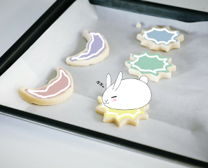 freetoedit unsplash cookies rabbits cutoutcookies