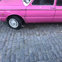 pink car nofilter tbilisi freetoedit