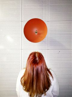 freetoedit redhead hair girl lamp
