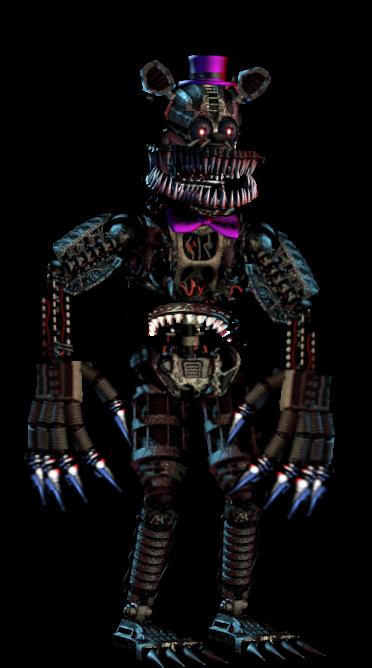 Nightmare fredbear endoskeleton fnaf fnaf4 fredbear