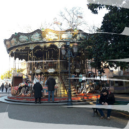 toulouse france carousel streetphotography people