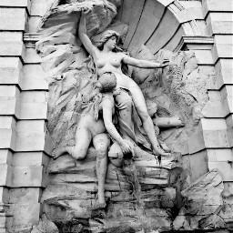 toulouse france fountain monument blancoynegro freetoedit