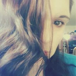dpclonghair photo selfie eye browneyes