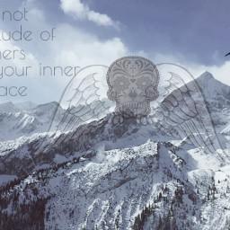 freedom beyourself doitforyou mountains