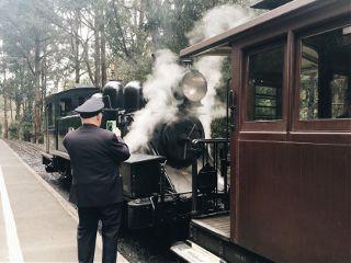 freetoedit melbourne puffingbilly steamtrain volunteer