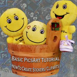 Tutorial tutorialpicsart step tutorial_deutsch tutorial_Germany Cliparts stickers HowTo howtomakestickers
