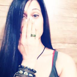 interesting bracelet suprised greenring hand freetoedit