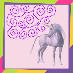unicornremix freetoedit unicorns colorfulframes framedpictures