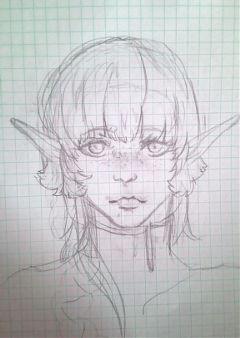 freetoedit elf drawing